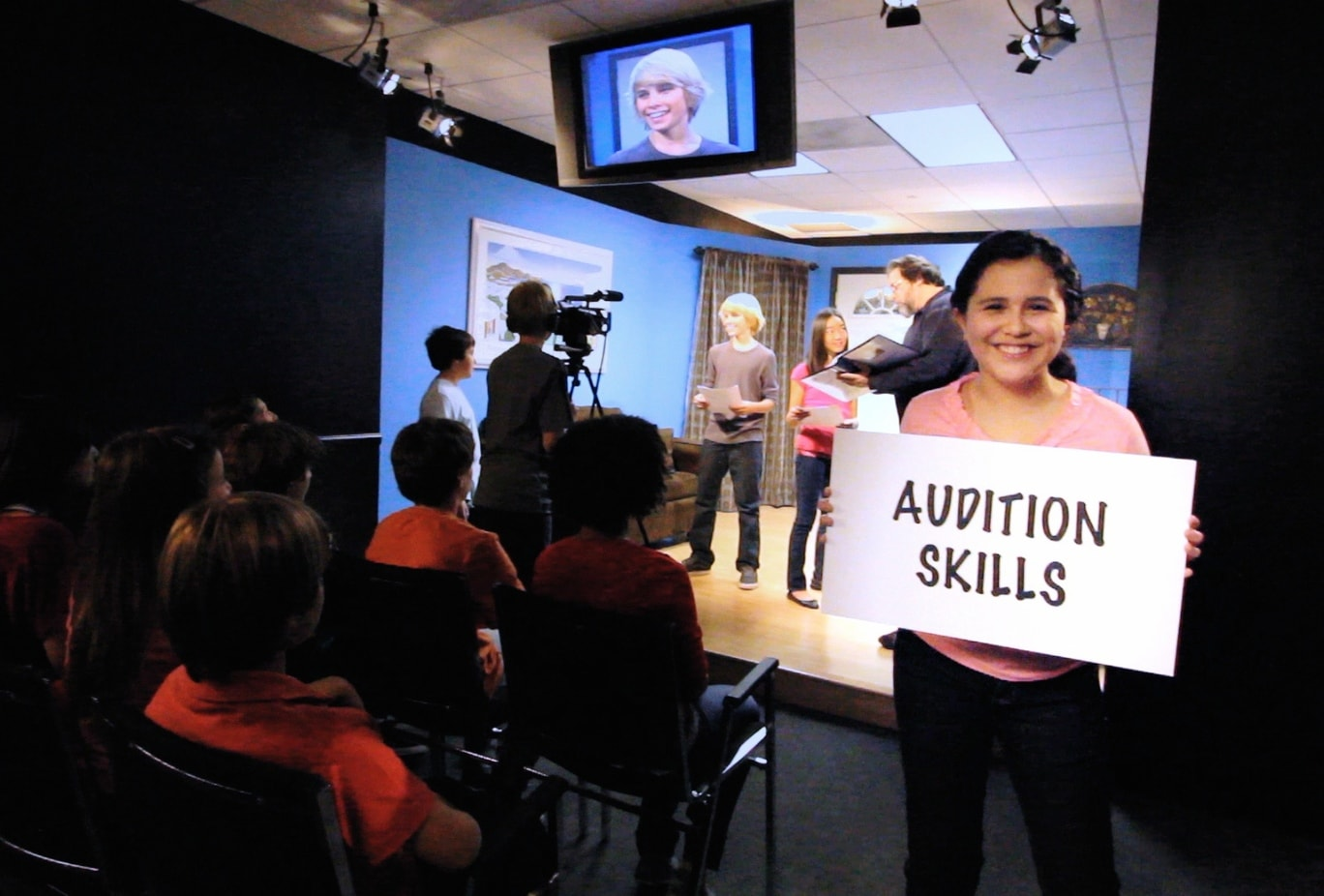 Acting Classes For Kids and Teens